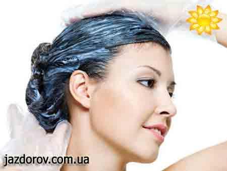 Освітлення волосся кефіром