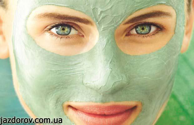 Маски з глини для обличчя