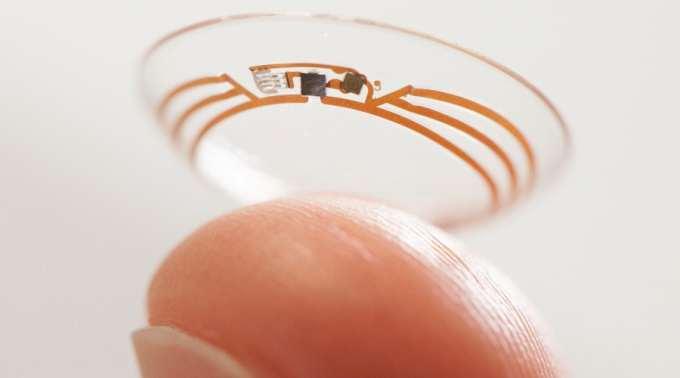 Розумні контактні лінзи від Google: лінзи для діабетиків і страждаючих далекозорістю